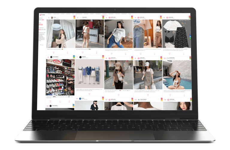 WISESIGHT FASHION TREND : Made Your New Style With More Trendy Feed From Various Official Brand on Social Media