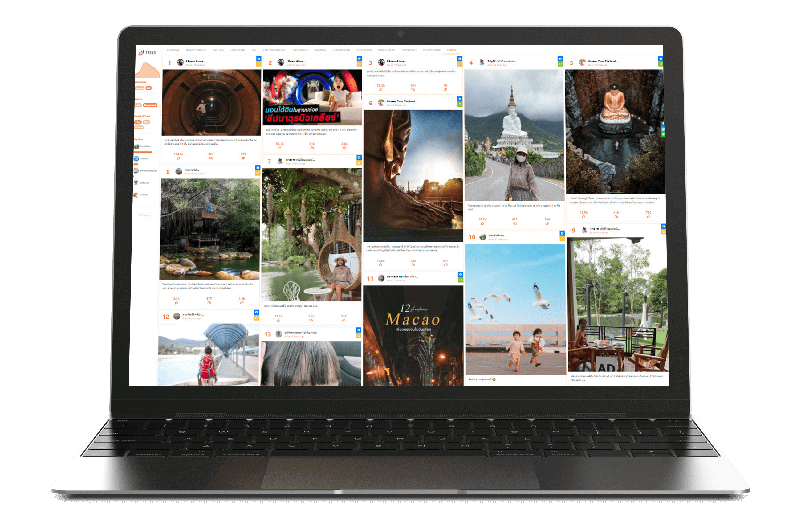WISESIGHT TRAVEL TREND : A Traveling Idea Hub Within The Social Media